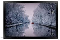 Motionless Reflections, Framed Print