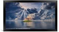 Sun Rays, Framed Print