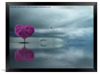 Lonely Heart, Framed Print
