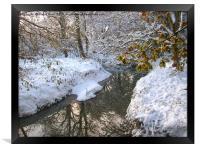Snow dream, Framed Print