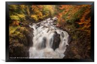 The Falls of Braan, Framed Print
