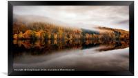 Autumn Reflections Loch Tummel, Framed Print