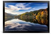 Loch Tummel - Perthshire, Scotland, Framed Print
