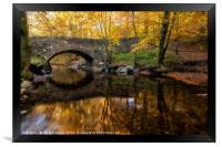 Autumn Bridge Scotland, Framed Print