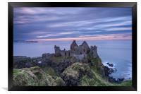 Dunluce Castle, Northern Ireland, Framed Print