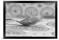 Spooning, Framed Print