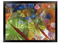Art Glass - Underwater 1, Framed Print