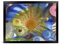 Art Glass - Underwater 2, Framed Print