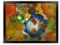 Art Glass - Underwater 6, Framed Print