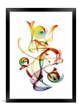 Juggler, Framed Print