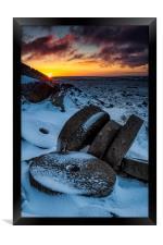 Stanage Edge Millstones #2, Framed Print