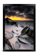 Millstone Sunrise, Framed Print