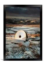 Stanage Millstones #2, Framed Print