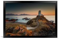 Twr Mawr Sunset, Framed Print