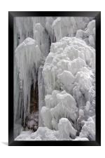 Frozen, Framed Print