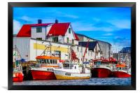Colours of Norway, Framed Print