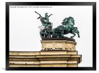 The Chariot., Framed Print