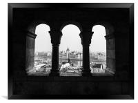 Room with a view., Framed Print