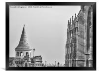 Fisherman's Bastion., Framed Print
