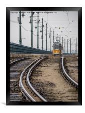Commute., Framed Print