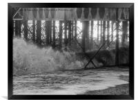 Waves., Framed Print