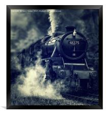 The Mail Train, Framed Print