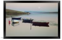 Moonfleet Lagoon, Framed Print