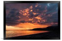Loch Broom Sunset, Framed Print