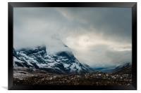 The Mists of Glen Coe, Framed Print