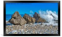 Trow rocks, Framed Print