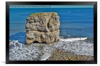 Marsden Rock, Framed Print