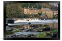 Demesnes Mill, barnard castle, Framed Print