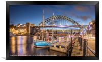 The Tyne Bridge at Newcastle, Framed Print