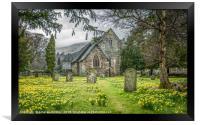 Church of Saint Patrick in Patterdale, Framed Print