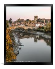 Aylesford kent, Framed Print