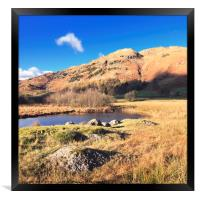 Autumn in Little Langdale, Framed Print