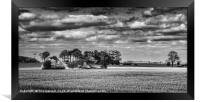 Kentish Sky, Framed Print