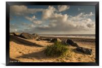 Sandy Beach, Framed Print