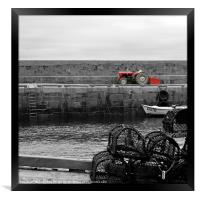The Tractor, Framed Print