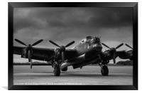 Avro Lancaster NX611 Just Jane , Framed Print