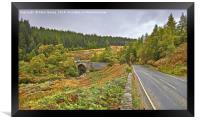 Road Bridge Over Easter Fearn Burn, Framed Print