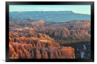 Bryce Canyon, Framed Print