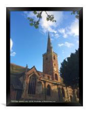 Saint John the Baptist Church, Halesowen, West Mid, Framed Print