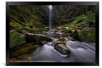 Henrhyd Waterfall, Framed Print