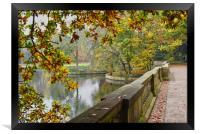 Autumn Park, Framed Print