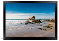 Broad Haven Beach, Pembrokeshire., Framed Print