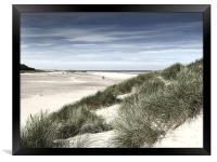 Holkham Beach North Norfolk, Framed Print