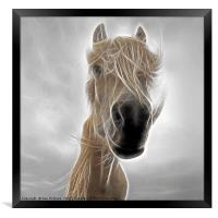 Mystic Horse, Framed Print