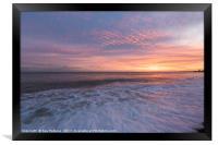 Hastings Sunset, Framed Print