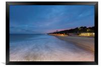 The View from Boscombe Pier, Framed Print
